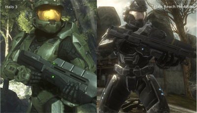 Halo 3 vs. Halo Reach